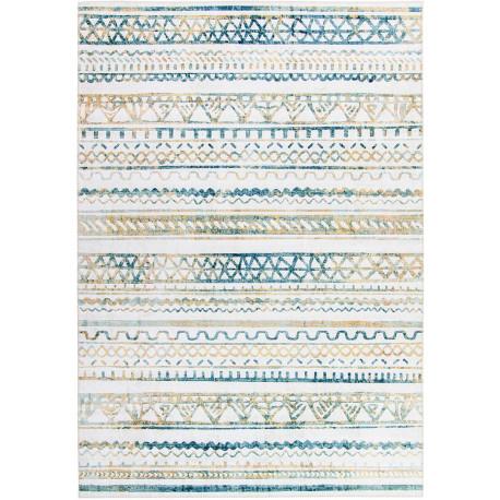 Tapis ethnique rectangle pour salon berbère Arabesque