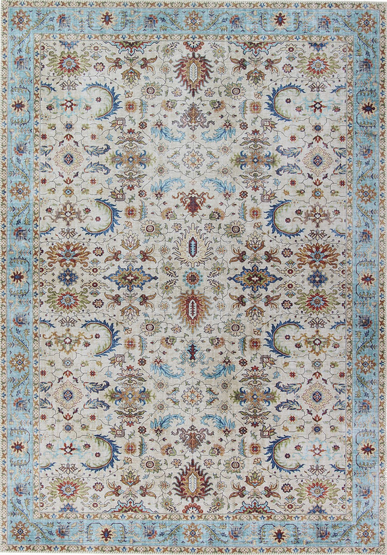 Tapis style oriental intérieur rectangle Classic