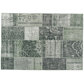 Tapis patchwork intérieur rectangle ethnique Bukan