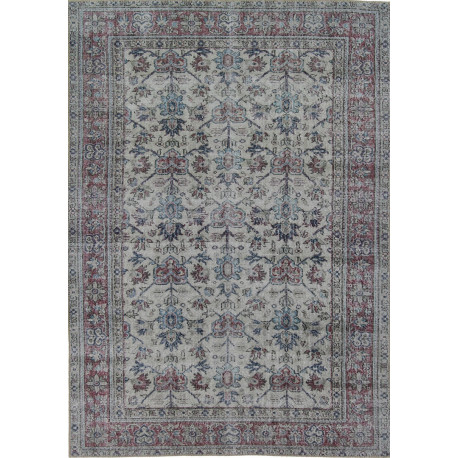 Tapis réversible en polyester rectangle Xotin