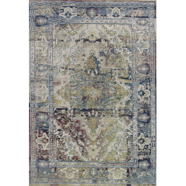 Tapis vintage rectangle en polyester intérieur Zabol
