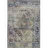 Tapis vintage rectangle en polyester intérieur Zabol