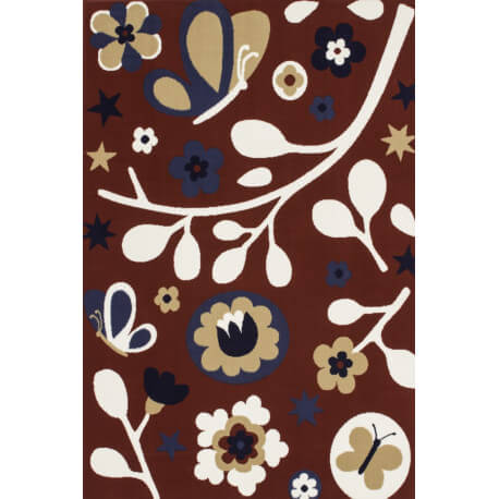 Tapis pour fille rouge Summerland