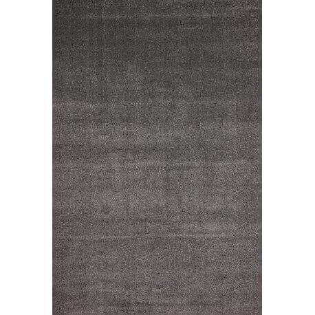 Tapis en polypropylène uni argenté Nimbus