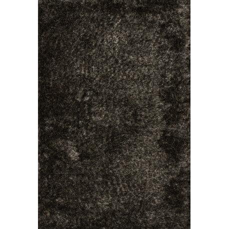 Tapis à longues mèches en polyester graphite Luna Lalee