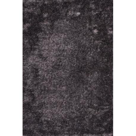 Tapis à longues mèches en polyester lavande Luna Lalee