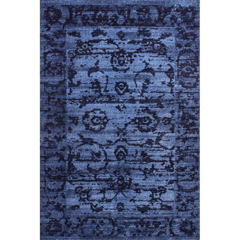 tapis d 39 entr e vintage bleu vista iii lalee. Black Bedroom Furniture Sets. Home Design Ideas