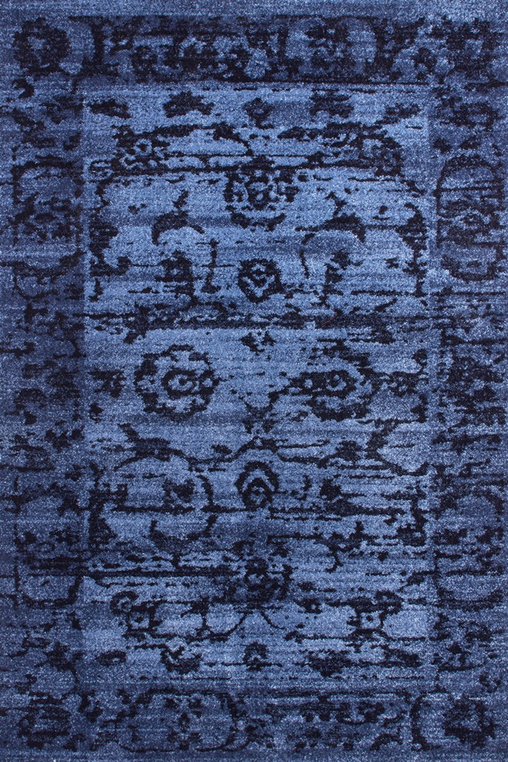 tapis d 39 entr e vintage bleu vista iii lalee. Black Bedroom Furniture Sets. Home Design Ideas