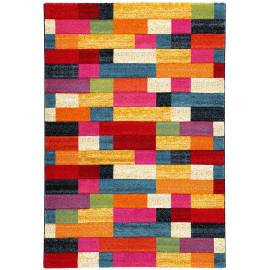 Tapis multicolore géométrique intérieur design Salisbury