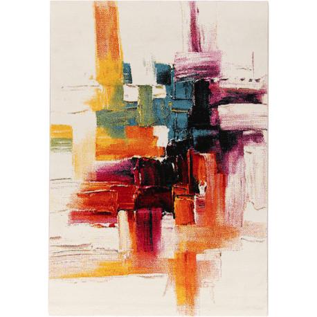 Tapis multicolore design polypropylène Southampton