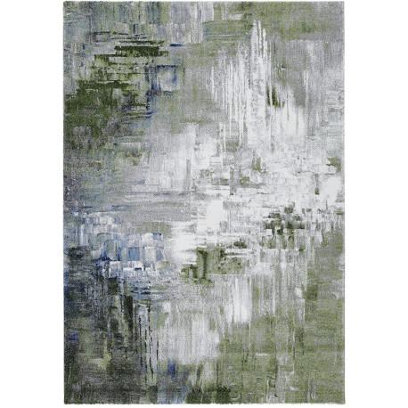 Tapis moderne pour salon abstrait multicolore Lyme