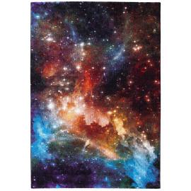 Tapis multicolore pour ado à courtes mèches Space B