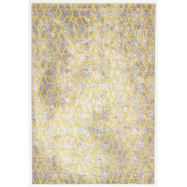 Tapis scandinave graphique rectangle pour salon Exeter