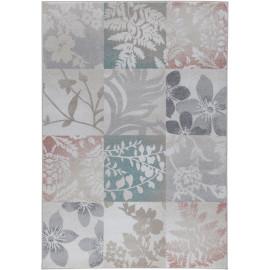 Tapis blanc floral intérieur contemporain rectangle Kilkenny