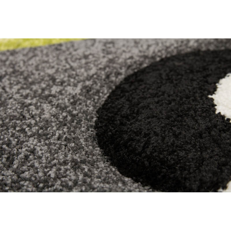tapis pour chambre de b b noir panda. Black Bedroom Furniture Sets. Home Design Ideas