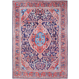 Tapis style orient rectangle pour salon Birr