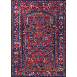 Tapis style orient rectangle pour salon Dungarvan