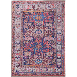 Tapis style orient rectangle pour salon Blarney