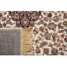 Tapis ivoire style oriental pour salon rectangle Clifden
