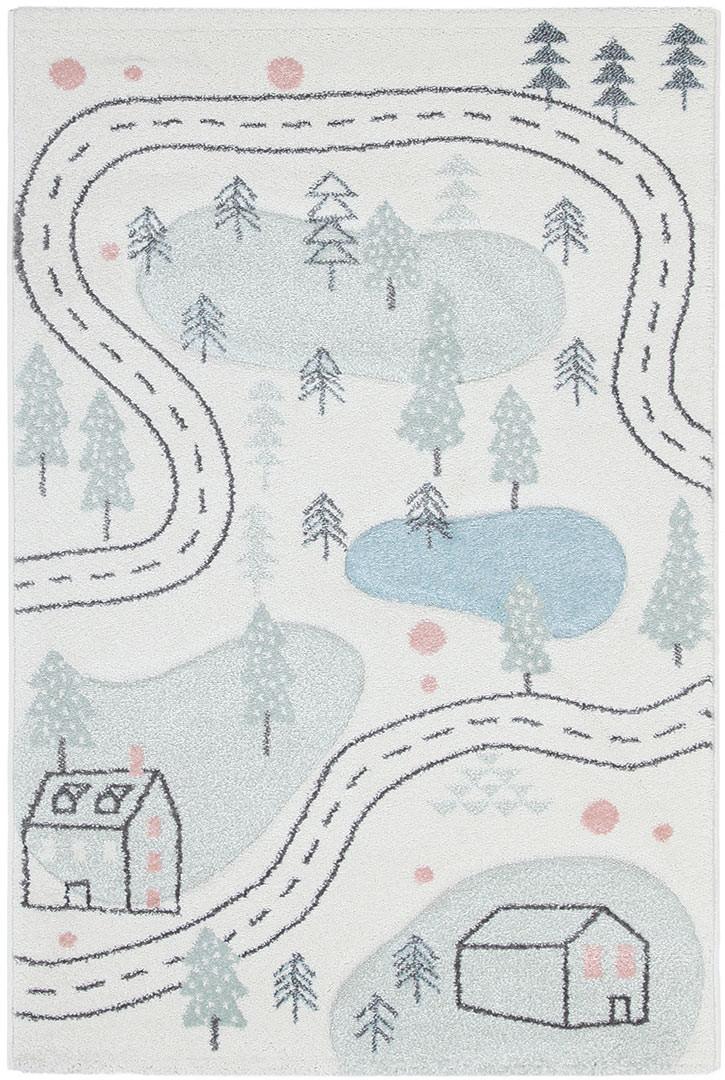 Tapis pour enfant à courtes mèches Nordic 9