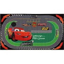 Tapis pour garçon circuit Disney Cars Racing