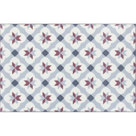 Tapis moderne de cuisine rectangle en PVC Berwick