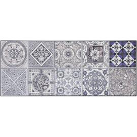 Tapis carreaux de ciment pour cuisine en PVC design Thurso