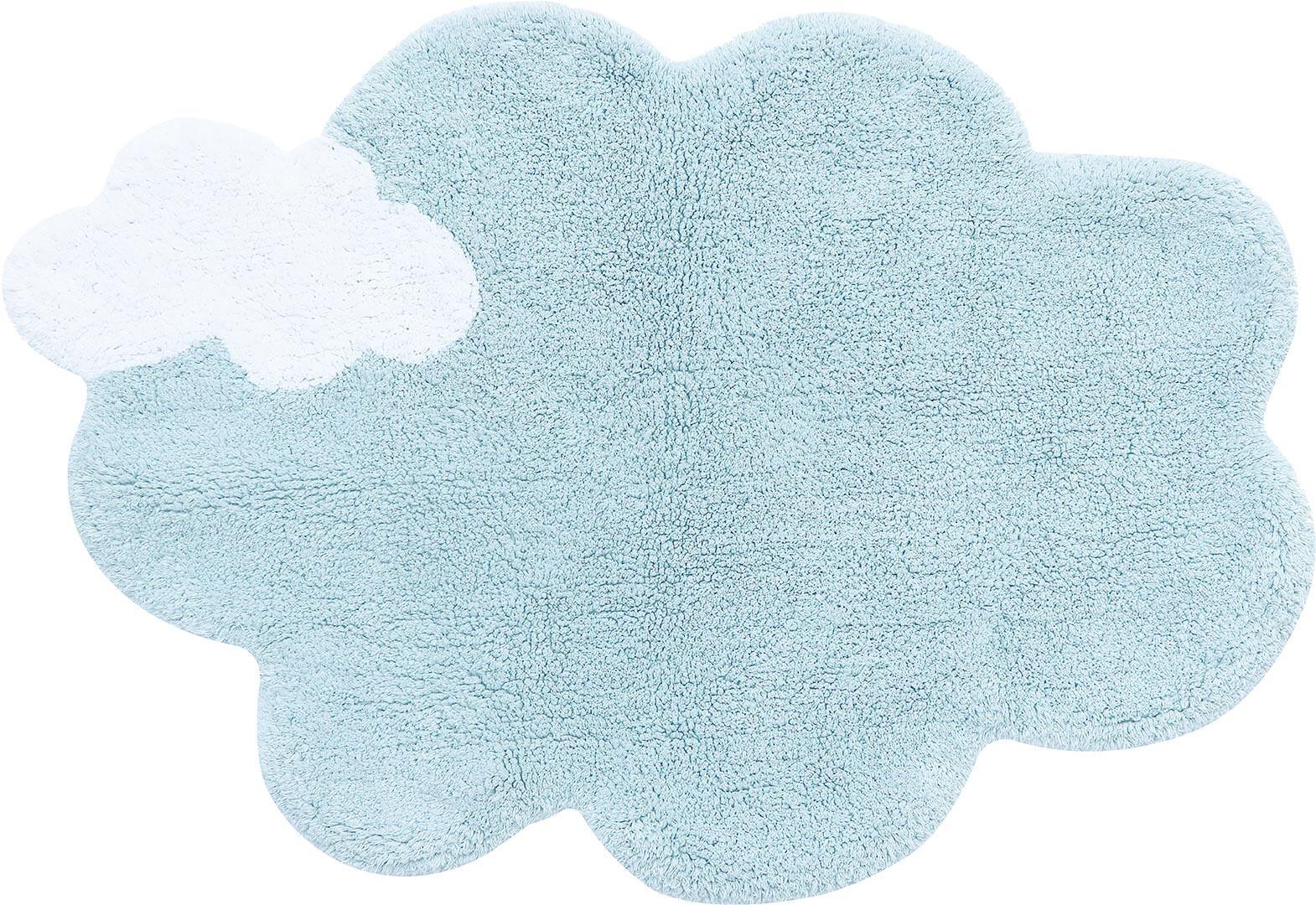 Tapis nuage bleu enfant Lorena Canals mini Puffy Dream