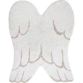 Tapis aile d'ange blanc pour enfant mini Wings Lorena Canals