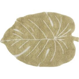 Tapis feuille pour salon mini Monstera Lorena Canals