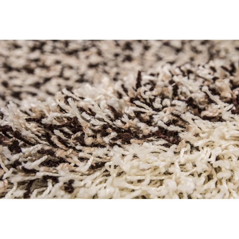 tapis shaggy en polypropyl ne beige eldorado. Black Bedroom Furniture Sets. Home Design Ideas