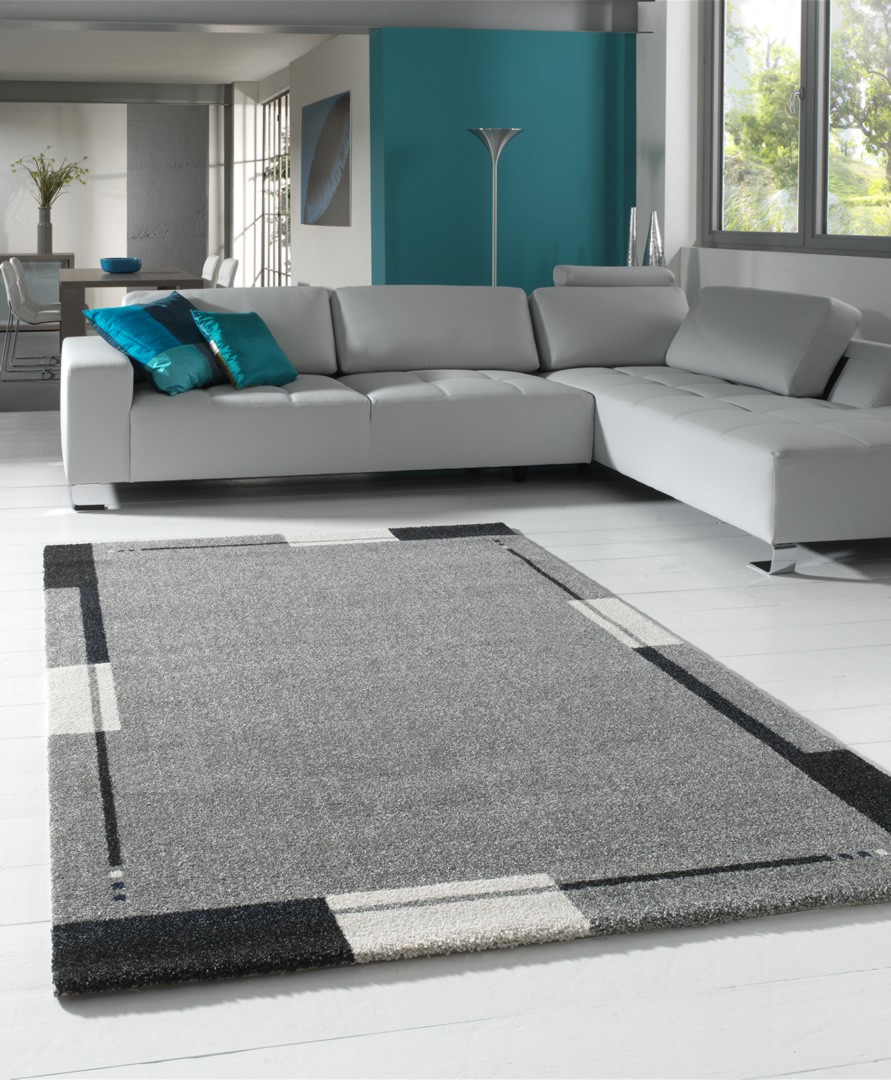 tapis salon contemporain rose solutions pour la