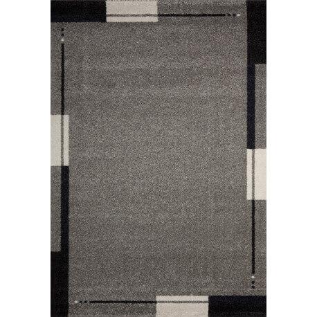 Tapis de salon contemporain gris Flume