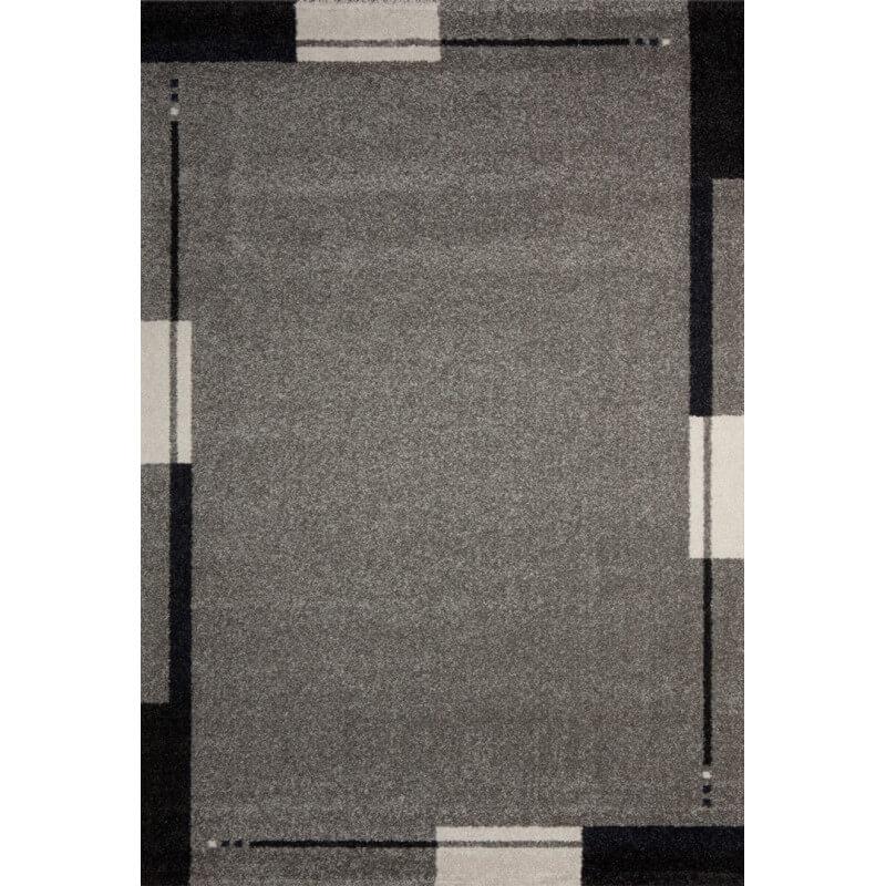 tapis de salon contemporain gris flume. Black Bedroom Furniture Sets. Home Design Ideas