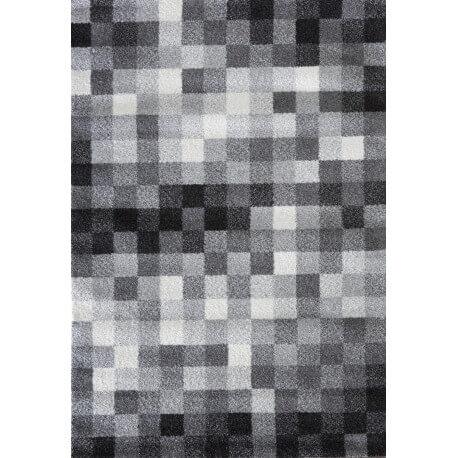 Tapis d'intérieur à motifs gris Taravel