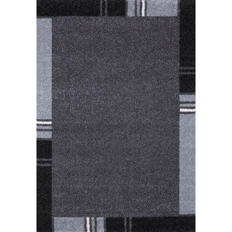 tapis contemporain en polypropyl ne gris wood. Black Bedroom Furniture Sets. Home Design Ideas