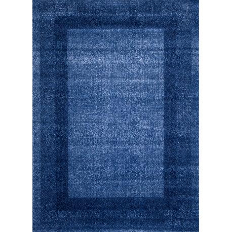 Tapis vintage d'entrée bleu Dico