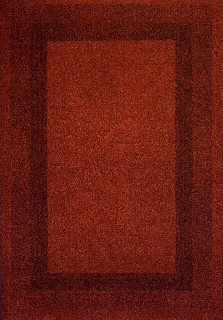 Tapis vintage de salon rouge Dico