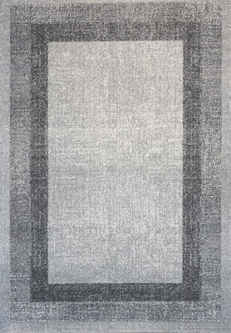 Tapis vintage de salon gris Dico