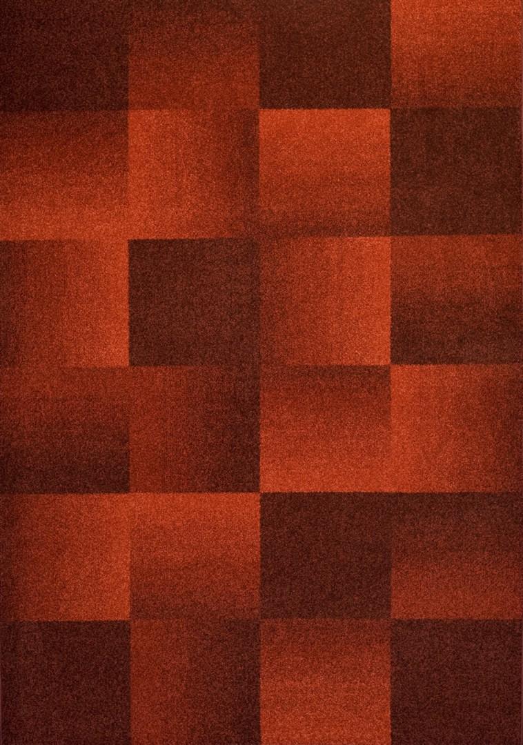 Tapis damier vintage rouge Stinger