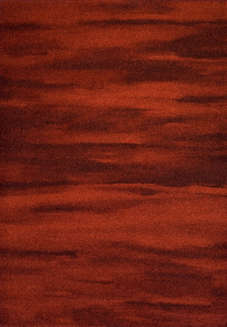 Tapis d'intérieur vintage rouge Billy