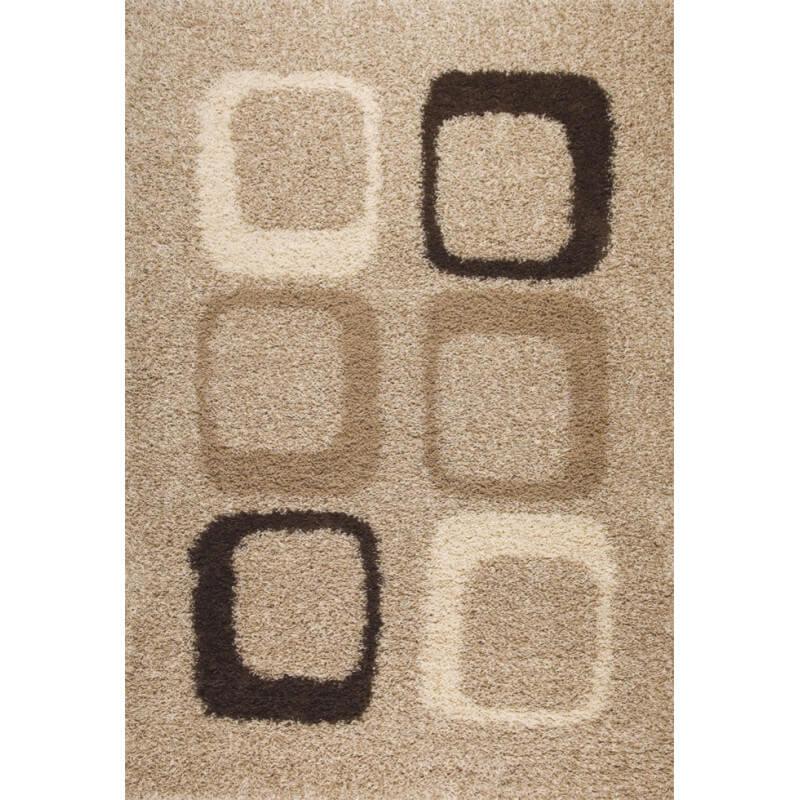 tapis moderne longues m ches beige troop. Black Bedroom Furniture Sets. Home Design Ideas