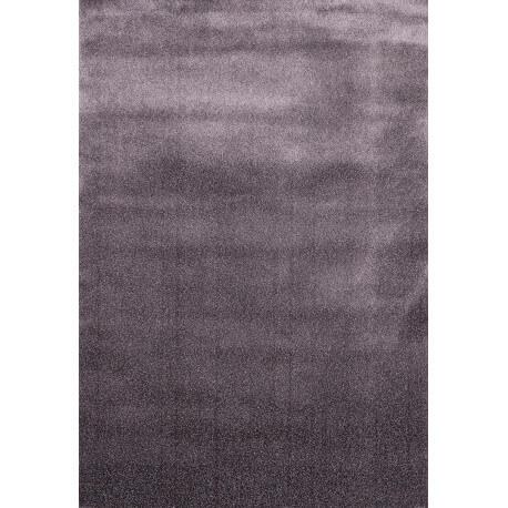 Tapis uni d'intérieur shaggy gris Torgan