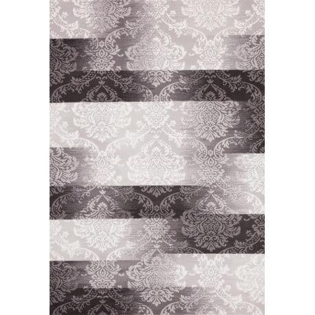 Tapis en acrylique pour chambre gris Luxor