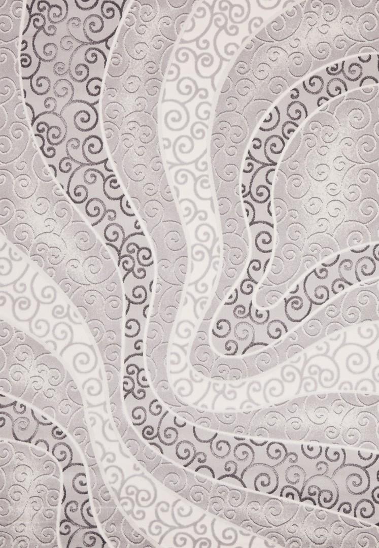 Tapis design gris en acrylique Starfloor