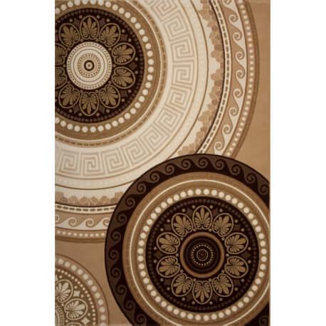 Tapis marron contemporain d'intérieur Firenze