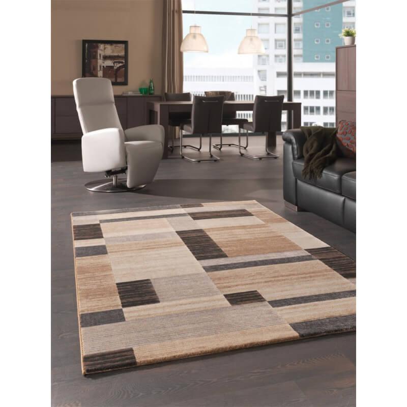tapis de salon courtes m ches beige gusto. Black Bedroom Furniture Sets. Home Design Ideas