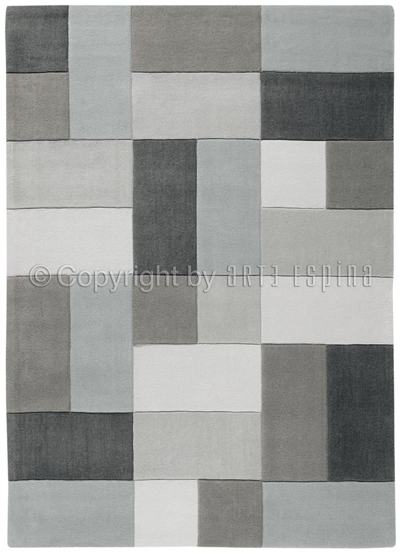 Tapis gris Reflective I par Arte Espina