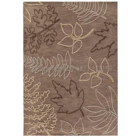 Tapis taupe Floriade par Arte Espina