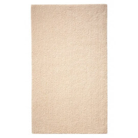 Tapis de bain antidérapant beige Natural Remedy Esprit Home